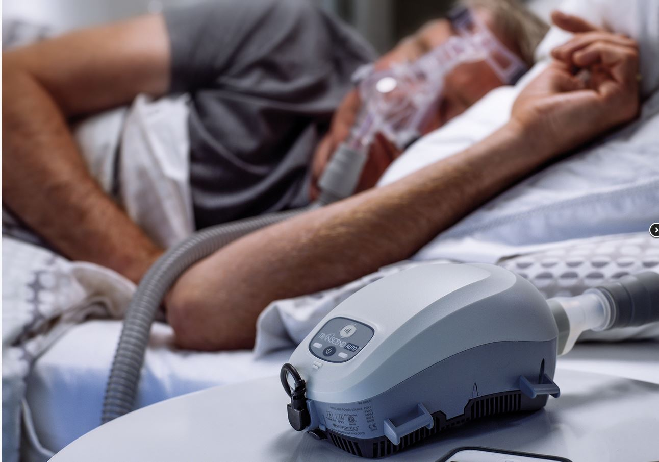 what does a cpap machine sound like
