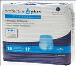 Protection Plus Classic Protective Underwear,Large